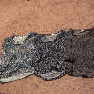 H&M's high/ low shirts
